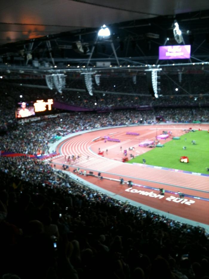 Men's 100m start