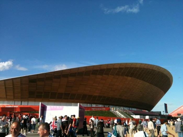 Outside Velodrome