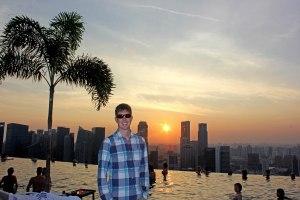 Singapore baby!