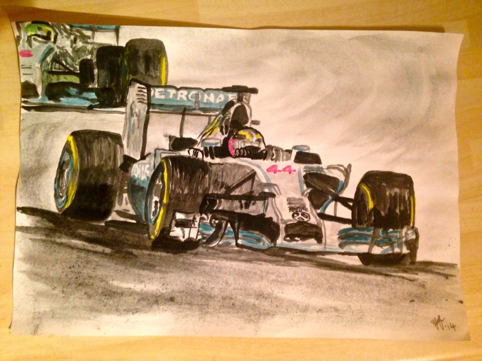Lewis Hamilton, Mercedes F1 2014
