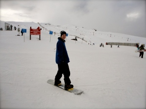 Snowboarding in New Zealand!