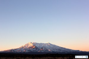 Mt Doom (aka Mt Ngaurahoe) at Dawn
