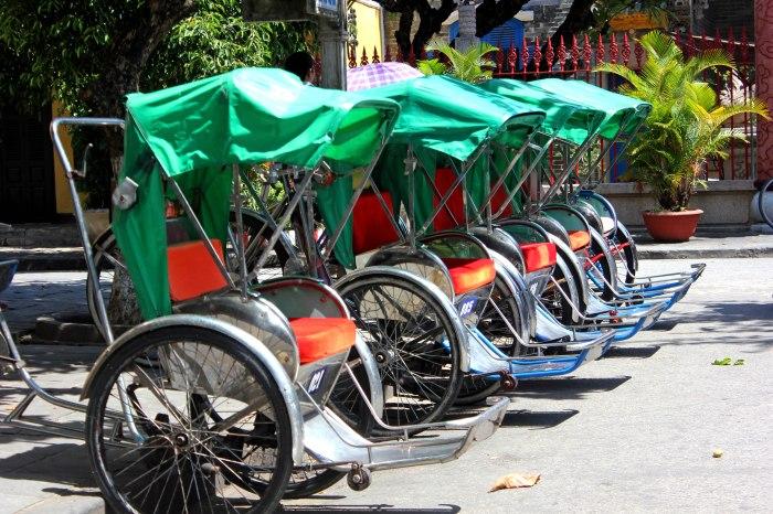 Hoi An rickshaws, Vietnam
