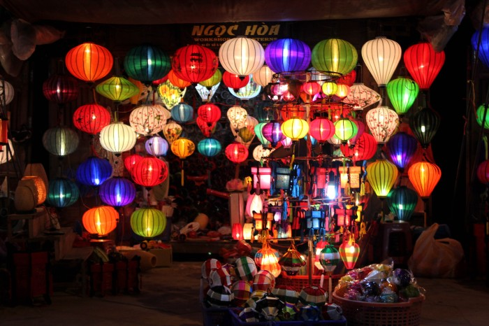 Hoi An night market, Vietnam