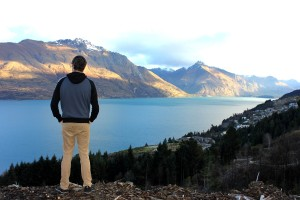 The mountains that surround Queenstown