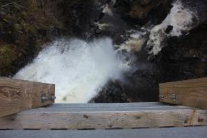 The mighty Plodda Falls