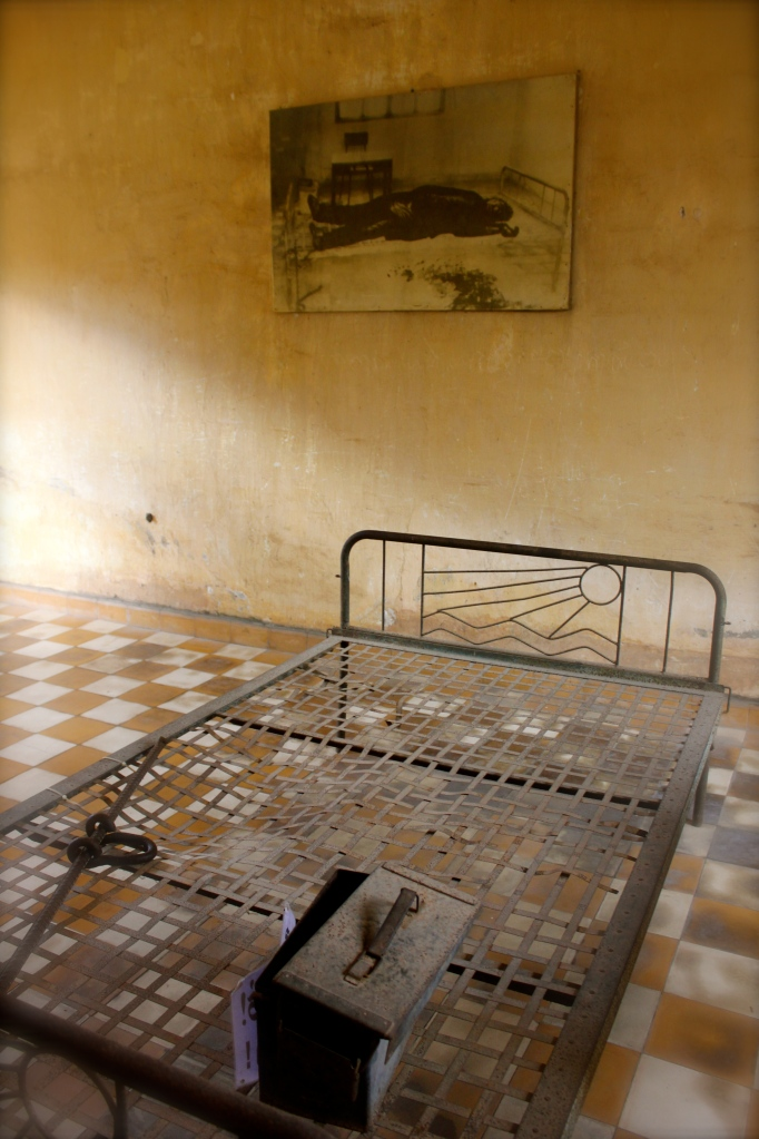Inside the prison