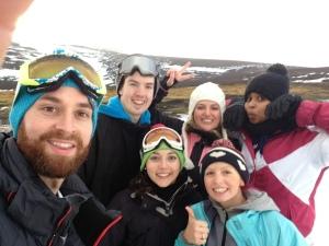 Snow selfie!