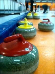 Curling stones!