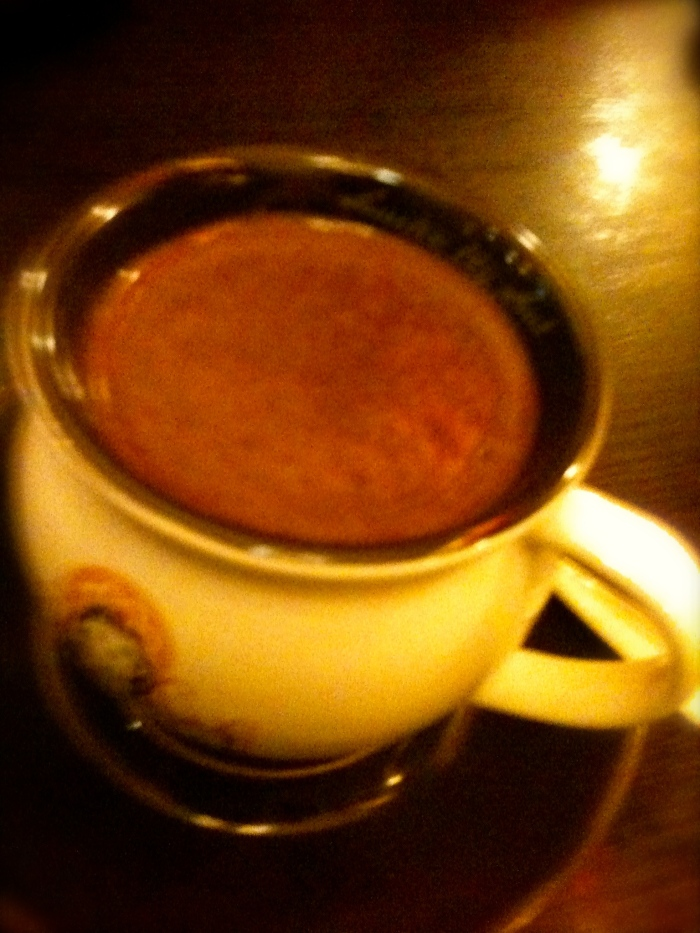 The best hot chocolate at San Churro's