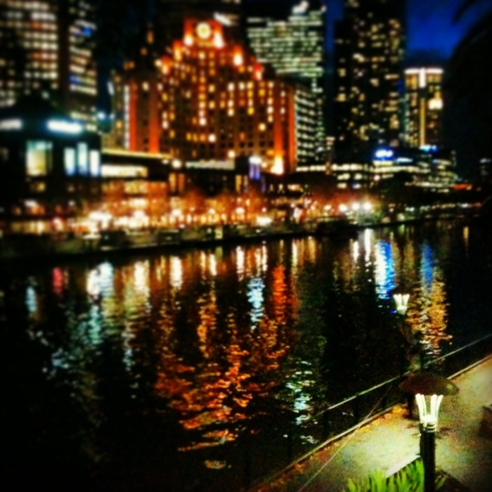 The Yarra; my walk home from work