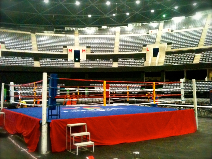 SECC Hydro - Boxing, Netball and Gymnastics