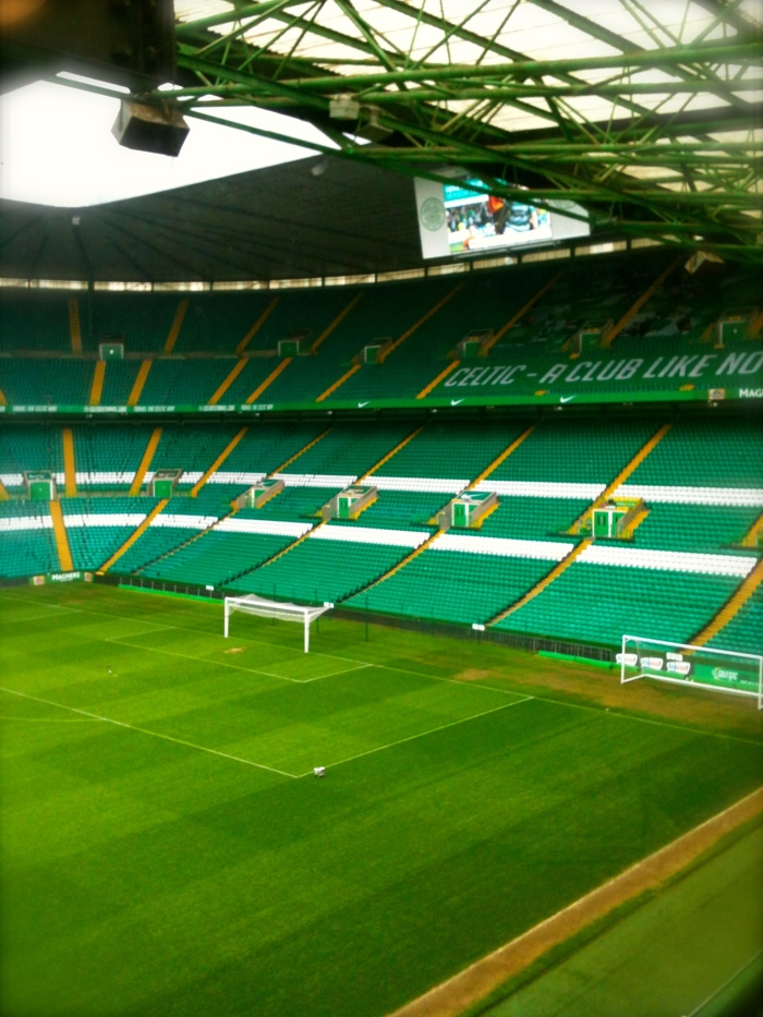 Celtic Park - view from the Sky Box