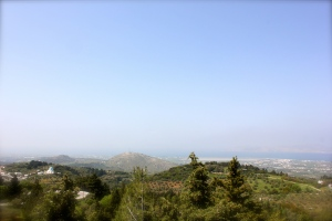 View from Mt Dikeos