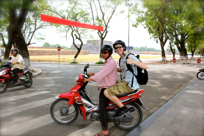 The best way to get around Huế