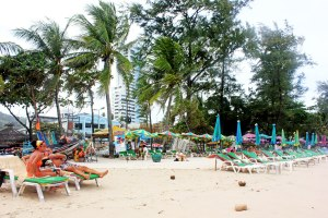 The beaches were not a patch on Krabi or Phi Phi