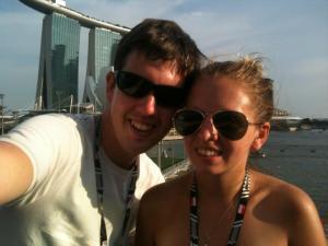 Singapore selfie!
