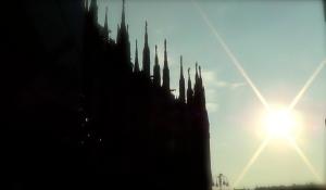 Stunning Il Duomo at sunset