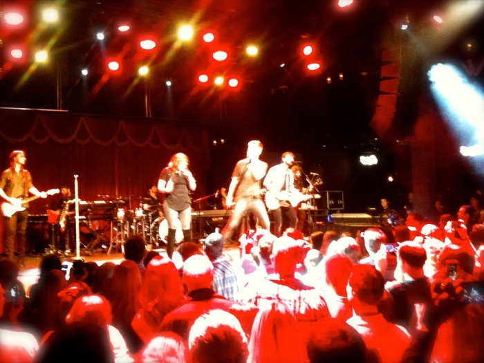The brilliant Lady Antebellum at the O2 Brooklyn Bowl