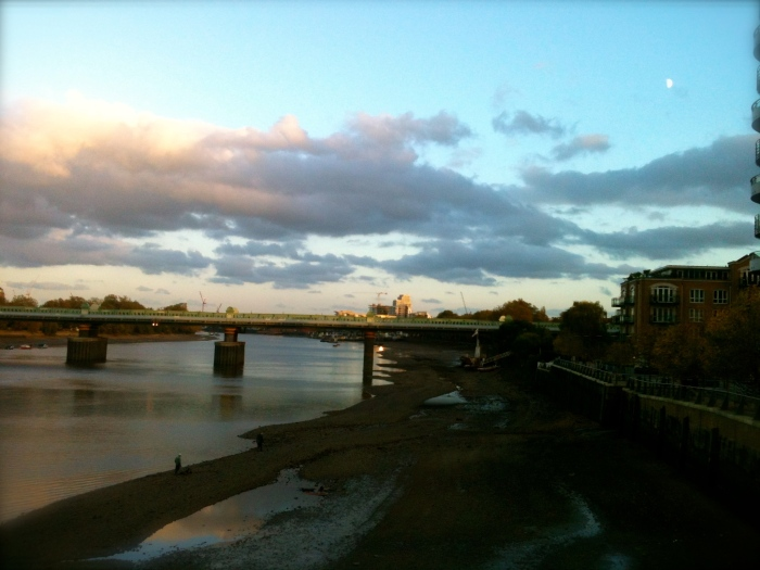 The Thames at Fulham, near where we live