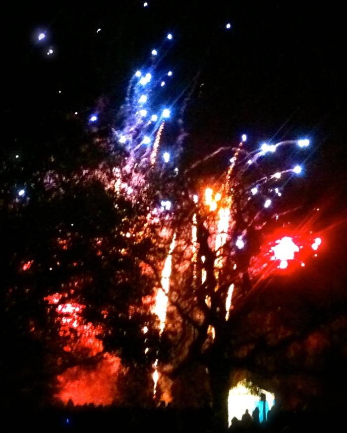 Fireworks at the Hurlingham Club, Fulham
