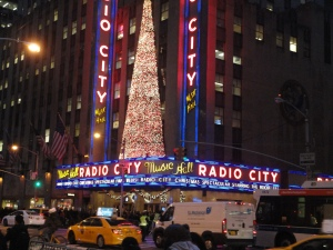 Radio City Music Hall Holiday Lights