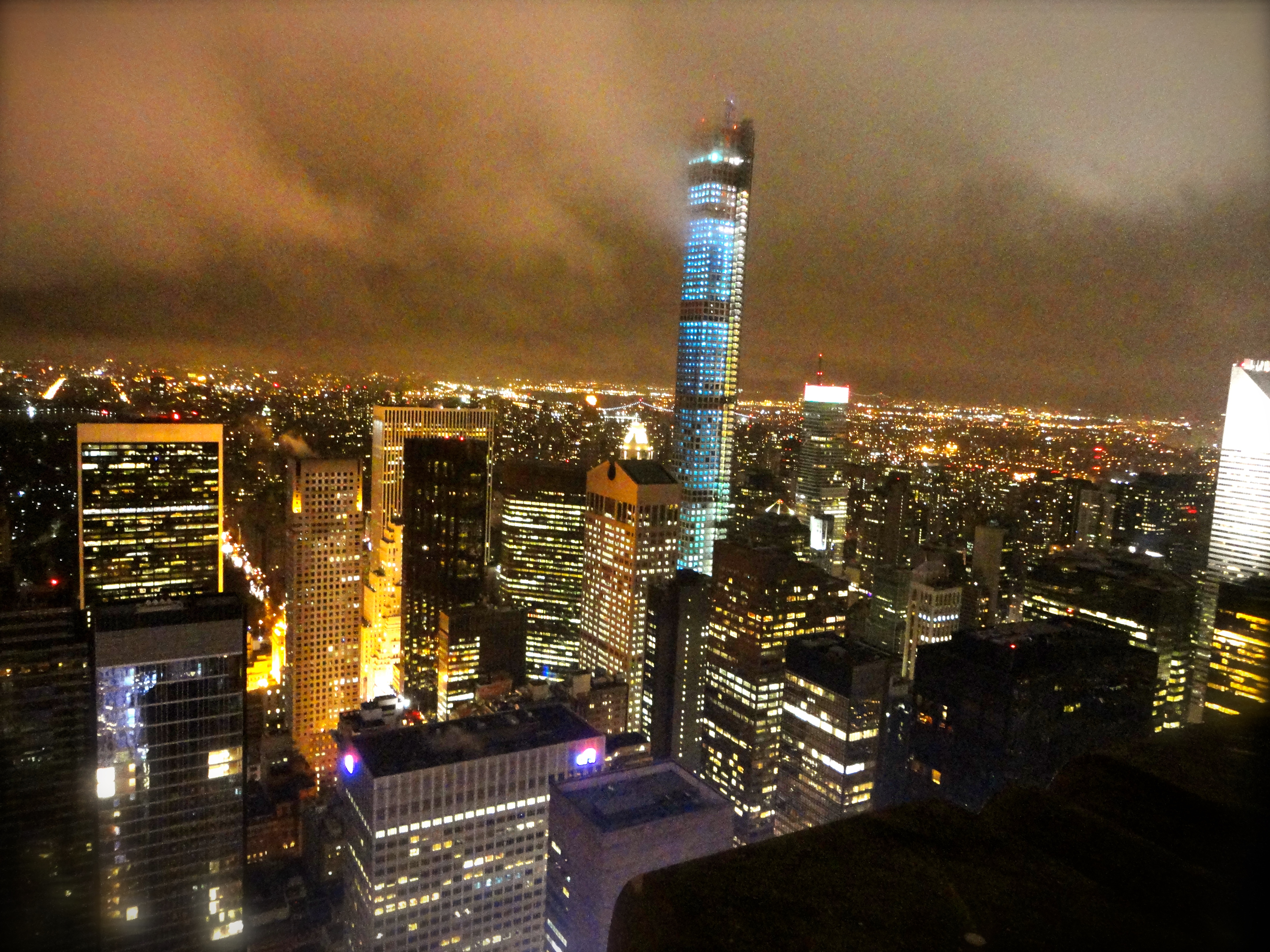 Top of the Rock NYC at Christmas | Whaddup JP