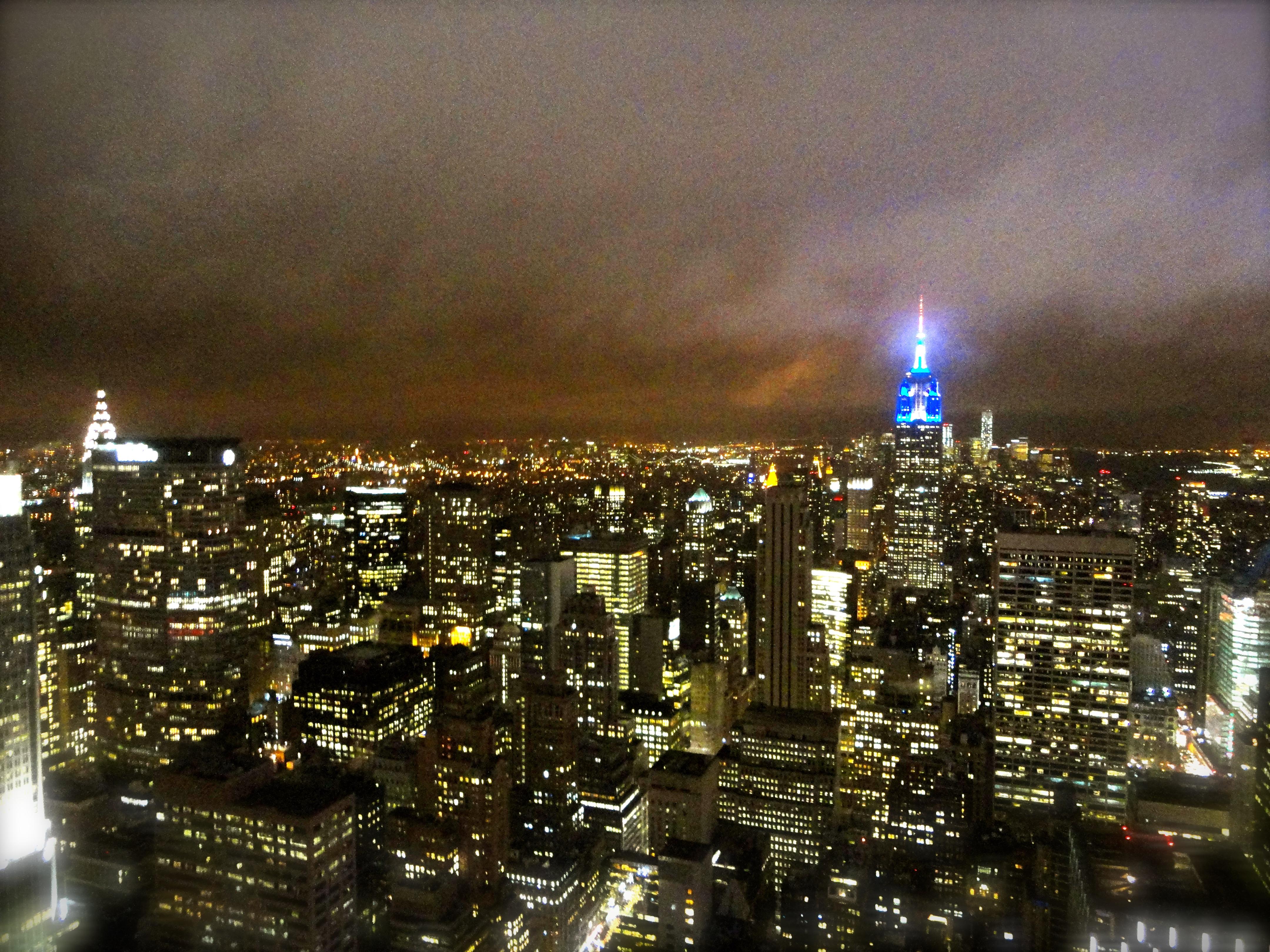 Top of the Rock NYC at Christmas | Whaddup JP