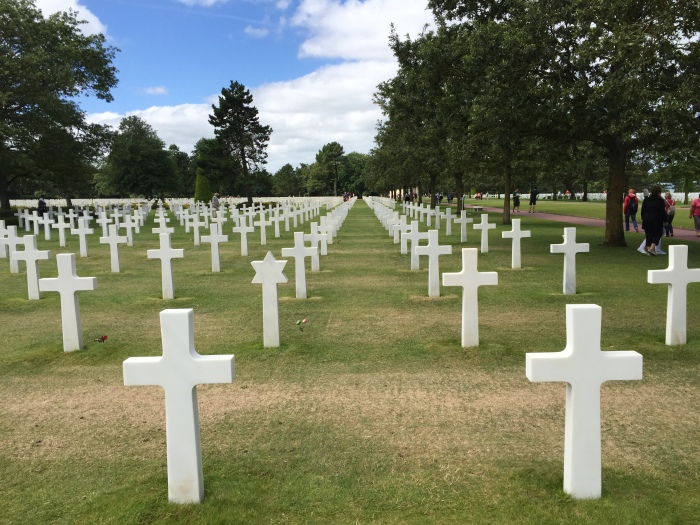American WW2 cemetery, Normandy beaches