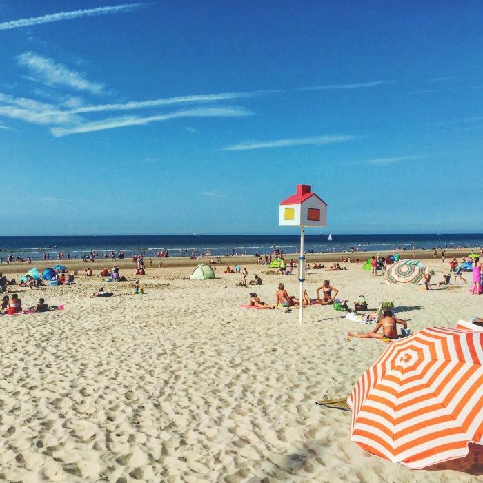Bray-Dunes beach, near Belgium